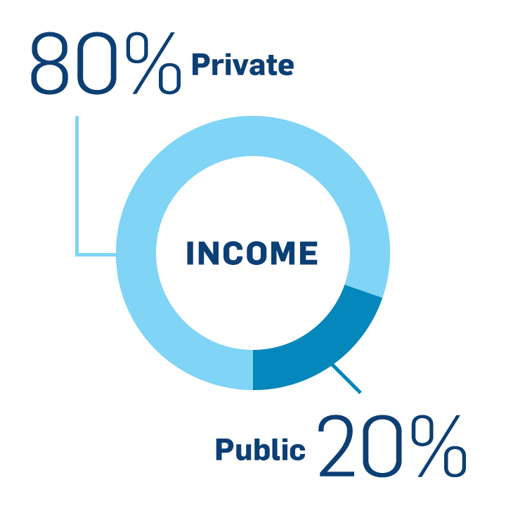 Income: Public and Private